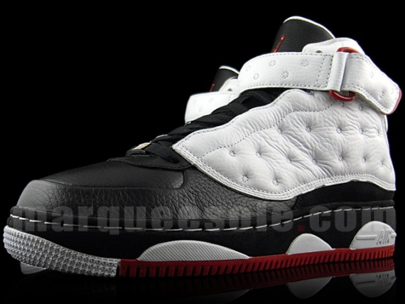 online store 17ab4 3135a Air Jordan Force Fusion XIII (AJF 13) – White – Black – Red – Detailed  Photos