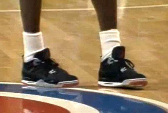 sports shoes 793da a26a7 Phil Jackson Wears Air Jordan IV During 1989 Eastern ...