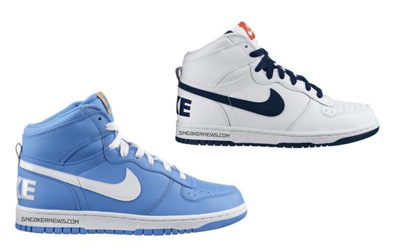 algodón oro equipaje  Nike Big Nike High - Fall 2009 Releases - SneakerNews.com