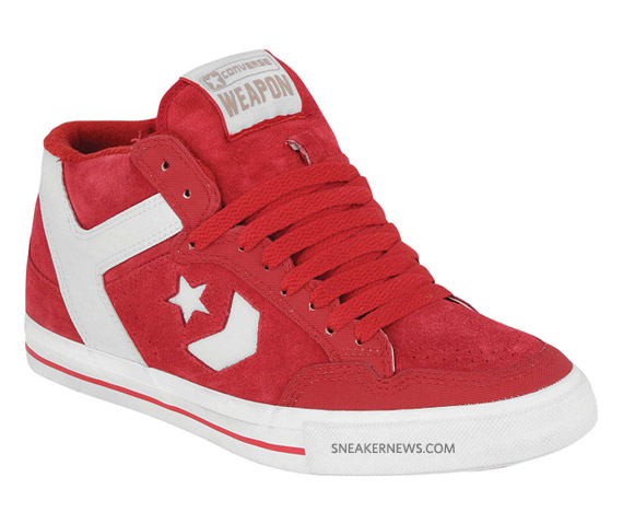 converse weapon red white