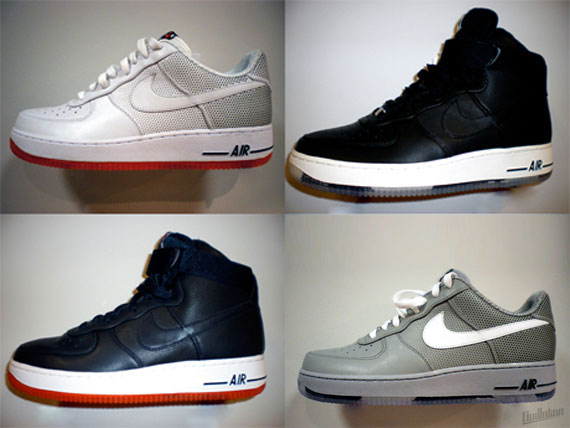 new arrival 74cf8 94dae Futura x Nike Air Force 1 - True Pack - January 2010 - SneakerNews.com
