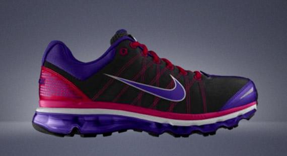 2009 Nike Air Max Purple