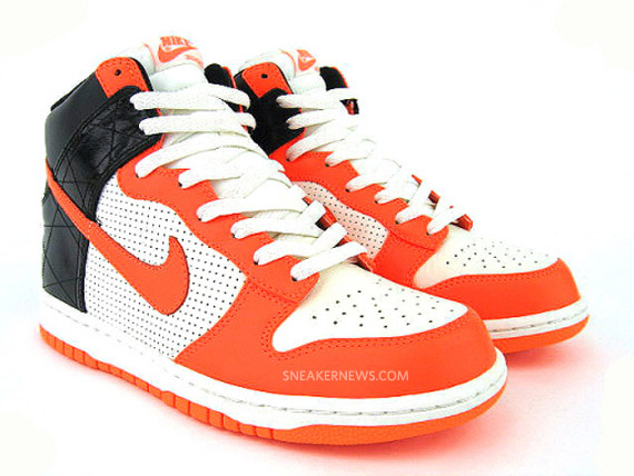 talons christian louboutin - Nike Dunk High Premium - Sail - Total Orange - Black - SneakerNews.com