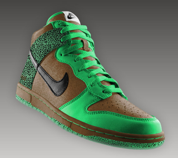 Nike Dunk High + Low - Safari Print and
