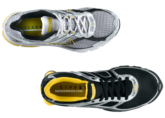 info for free shipping new specials LIVESTRONG x Nike Air Max Moto 7 + Shox Turbo 9+ - SneakerNews.com