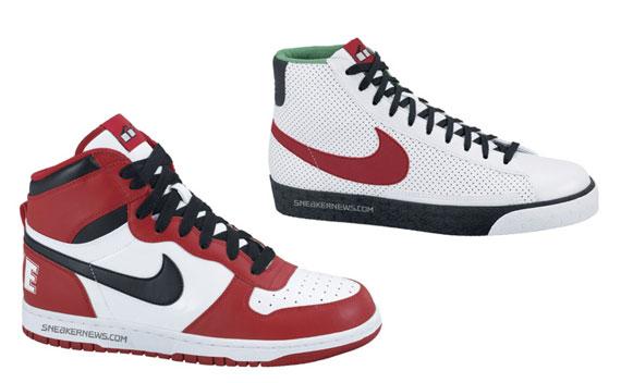 34108353ff7eb0 Nike Big Nike High + Blazer High - Spike Lee Pack - SneakerNews.com