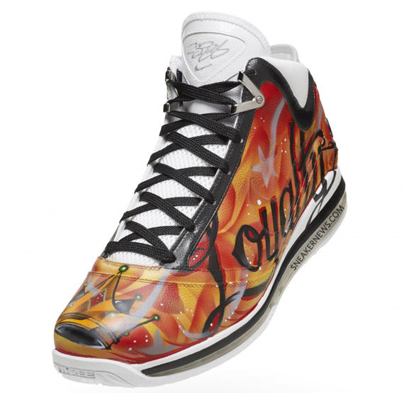 """My inspiration to design these shoes was driven by LeBron's tattoos…"
