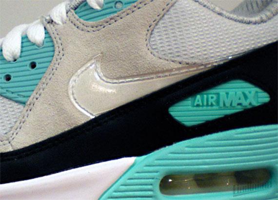 air max 90 clear mint