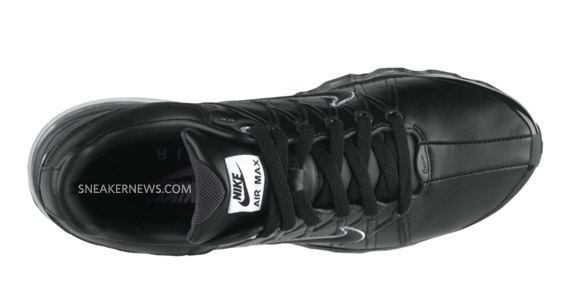 nike air max 2009 leather all black