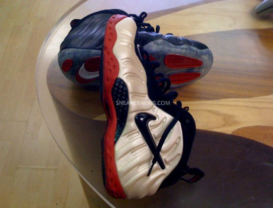 Nike Air Foamposite – Pearl x Black – Red – Swapped Sole Customs by Jason Negron – Part 2