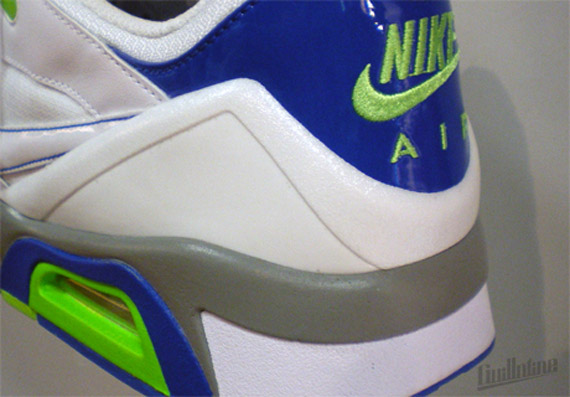 Nike Air Structure Triax 91 – Whtie – Electric Green – Blue Sapphire –  Spring  10 19336558e