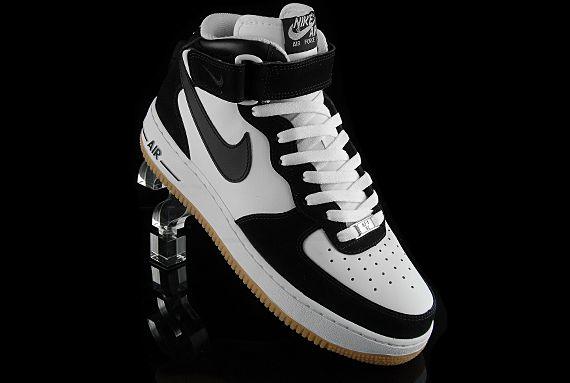 nike air force 1 mid gum sole