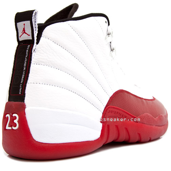ba40de5c38464d Air Jordan XII (12) - White - Varsity Red - Black - SneakerNews.com