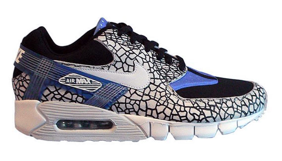 the best attitude 6be5e 473f6 air-max-90-curent-huarache-huf-00