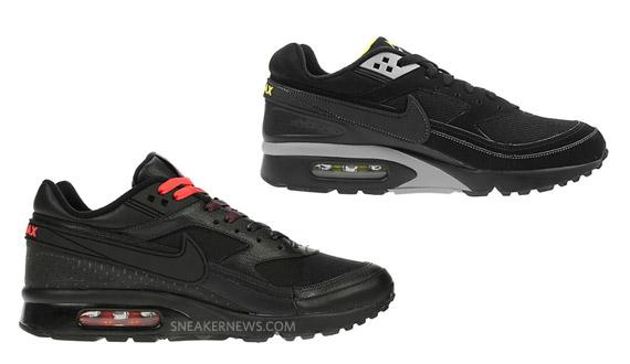 nike air max classic bw black