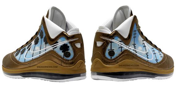 3e9297db4435 air-max-lebron-vii-artist-los-angeles. Advertisement. The LeBron James More  Than A Game ...