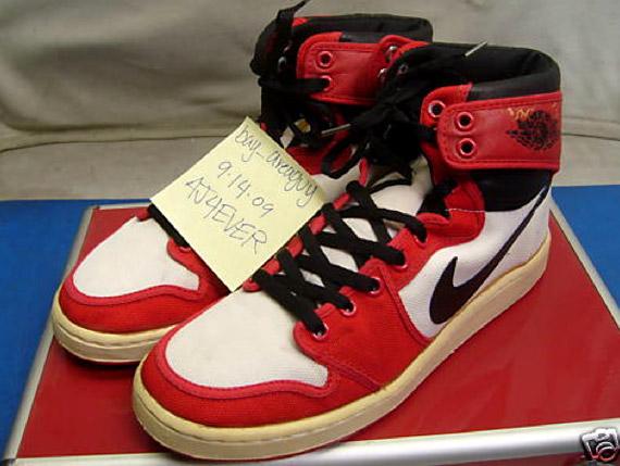 vintage michael jordan sneakers