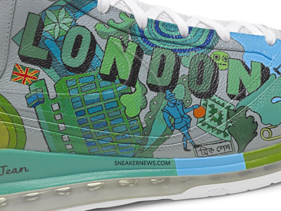 1f06c81d8931 Nike Air Max LeBron VII - More Than A Game Artist Series - London ...
