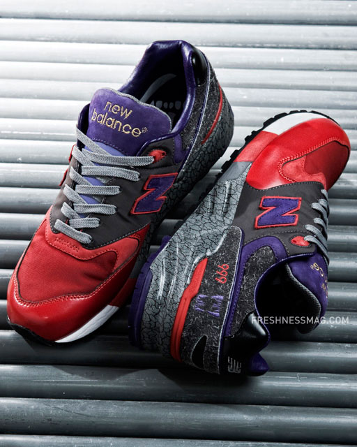 new balance 999 on feet
