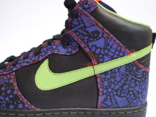 best service 865f5 649bd Nike Dunk High Quickstrike - Day of the Dead - New Photos ...