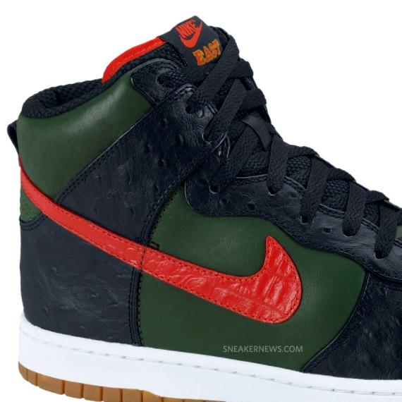 9b6521ab5378 Nike Dunk High Supreme LE East - Gucci by DJ Clark Kent   NikeStore ...