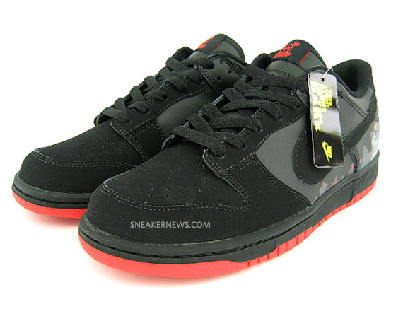 Nike Dunk Low GS - R.I.P Halloween - Glow in the Dark - SneakerNews.com 9737cddc8