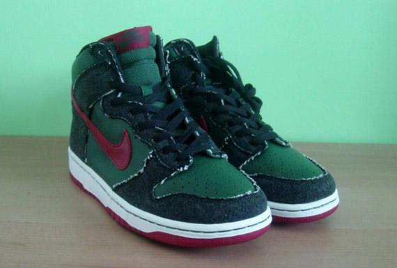 Nike SB Dunk High - Gucci Denim