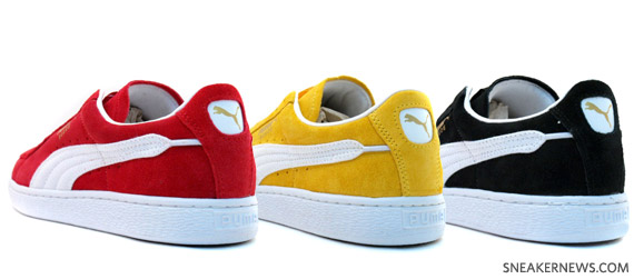 Here s an interesting twist on the classic Puma Suede lowtop design. This  lowtop has been around for 40+ years now 77a174b7c