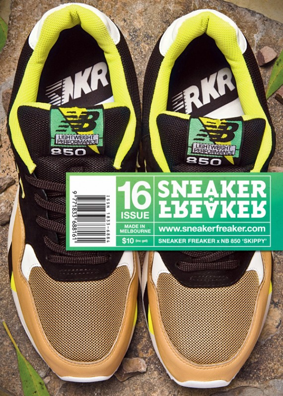 SneakerFreaker x New Balance 850 Skippy 85%OFF .uk