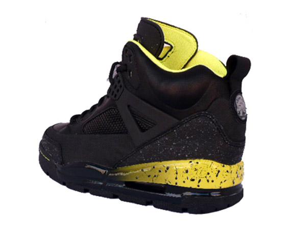 113580b4822c55 Air Jordan Spiz ike Winterized Boots - Black - Yellow - SneakerNews.com