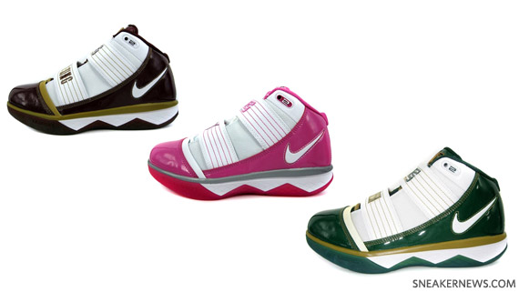 official photos 8366b b95ed Nike Zoom LeBron Soldier III SVSM CTK Think Pink HOH Harlem high-quality