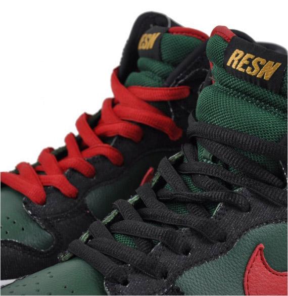 Nike Dunk High Premium - RESN - Gucci