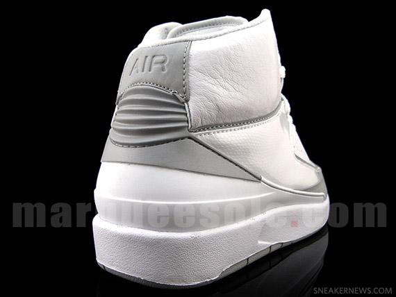 official photos ab4dd 4a7e6 Style  385475-101. Color  White Metallic Silver-Neutral Grey. AJ-II-Retro- Wht-3M-M-2m. AJ-II-Retro-Wht-3M-M-3m