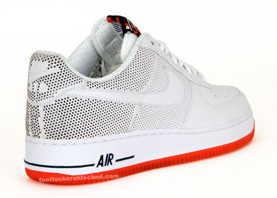 Futura x Nike Air Force 1 Premium Be True White Team Orange February 2010