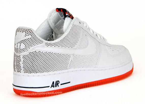 Futura x Nike Air Force 1 Premium - Be True - White - Team Orange ... a77b4e2927