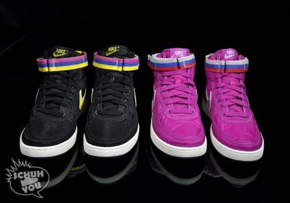 half off 6c7f9 32cf1 Nike Vandal High Supreme VNTG – MagentaSilver + BlackGold – Available