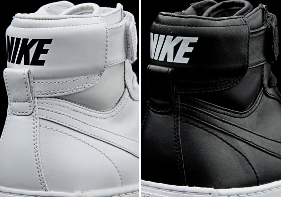 sports shoes b6af2 1a2f2 Nike Air Flytop Premium – White + Black