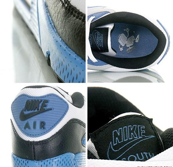 sports shoes af2e1 7e1b7 Nike Air Max 90 South – White – Varsity Blue – Neutral Grey