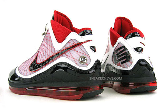 detailed look 4cfc0 97811 Nike Air Max LeBron VII - White - Black - Varsity Red - Available on ...