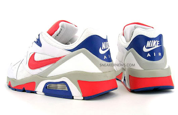 code promo fcc42 dcab5 Nike Air Structure Triax 91 - White - Hot Red - Hyper Blue ...