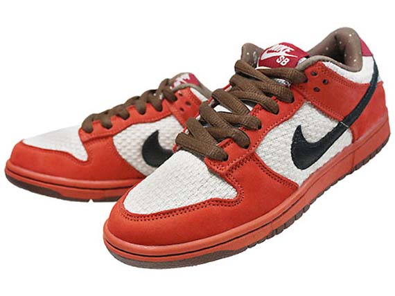 wearing nike dunks. nike dunk low