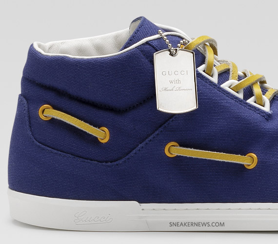 gucci mark ronson sneaker 03 Mark Ronson and Guccis Icon Temporary Shoe Collection