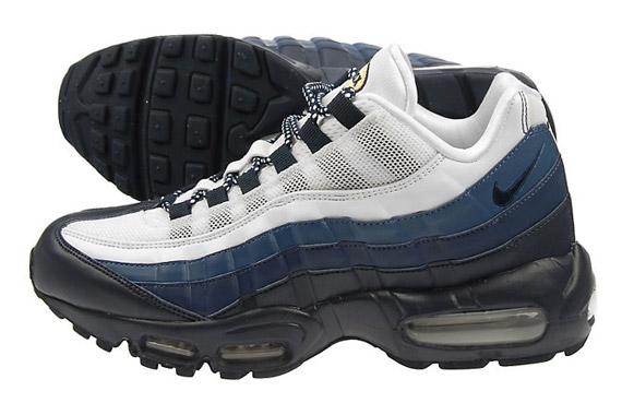 We got a glimpse at another JD Sports-exclusive Nike Air Max 95 earlier  today. That one went heavy on black with blue and orange accents, whereas  the pair ...
