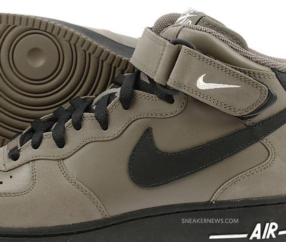 nike air force 1 olive black