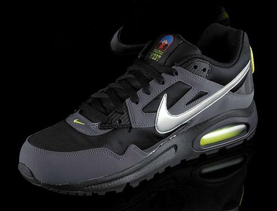 b019e1acc9a16c Nike Air Max Skyline EU - Black - Metallic Silver - Volt ...