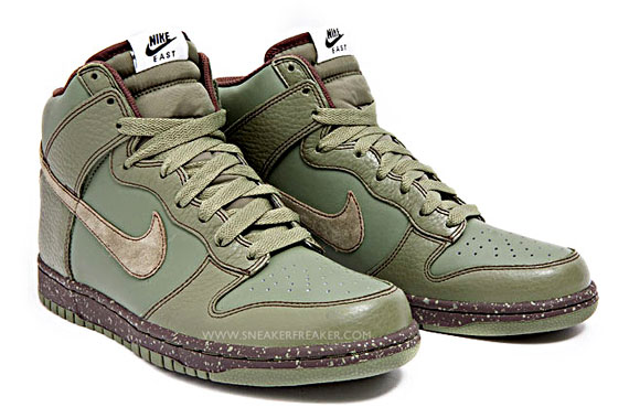 cc9a63af03de Nike Dunk High East - Urban Haze - Baroque Brown - New Images ...