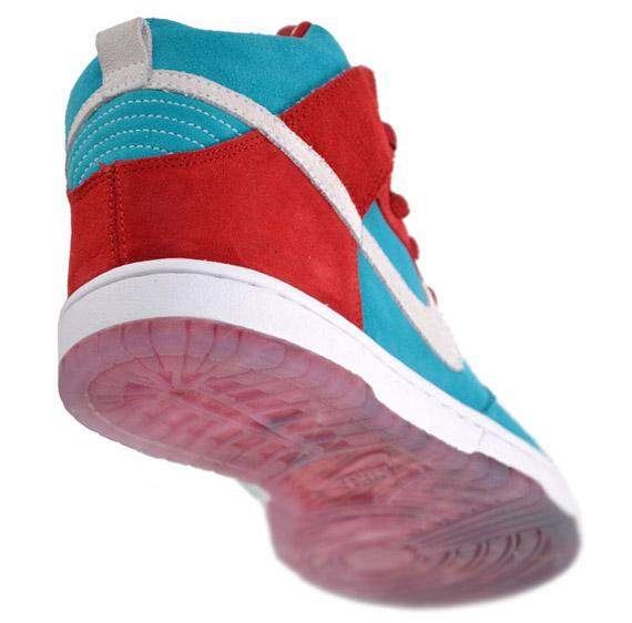 Nike SB Dunk High Premium - Bloody Gums
