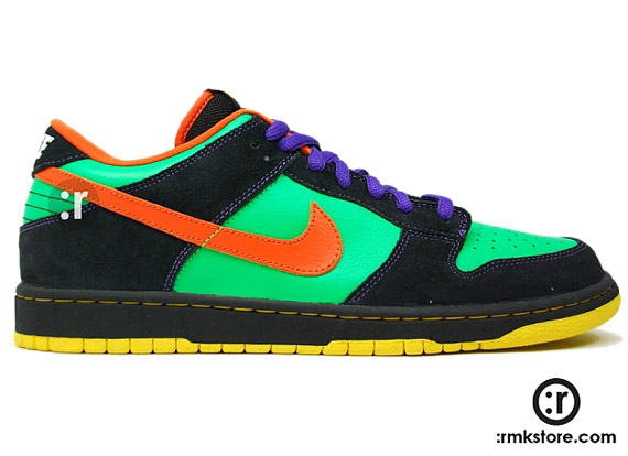 competitive price cf4fe ccdda Nike Dunk Low Premium SB - Green Spark - SneakerNews.com