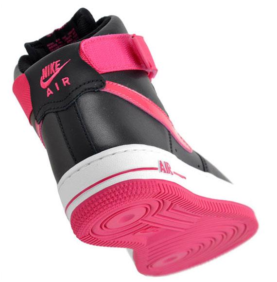 Nike Wmns Air Force 1 High Black Pink Sneakernews Com