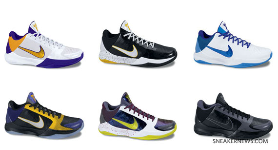 pretty nice 43fe0 9614b Nike Zoom Kobe V - New Images and Colorways - SneakerNews.com
